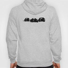 Racing Cars Silhouettes Hoody
