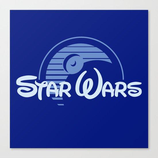 Disney Wars Canvas Print