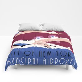 City of New York municipal airports Comforters
