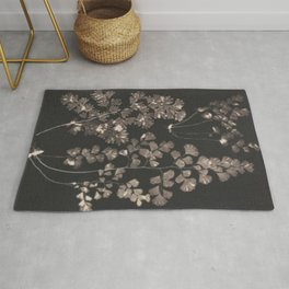 Black Maidenhair Rug