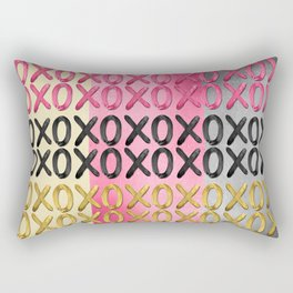 Glamorous XO's  Rectangular Pillow