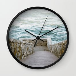 Forty Steps Wall Clock