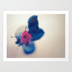 Rose In A Dream ~ flowers  Art Print
