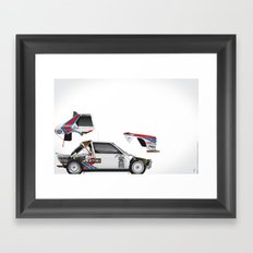 Henri Toivonen-Sergio Cresto, Lancia Delta S4, 1986 Framed Art Print
