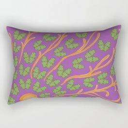 Butterfly Sun Rectangular Pillow