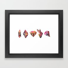 Celestine Geo Framed Art Print