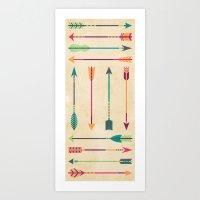 hunter Art Prints featuring Hunter by Liz Urso