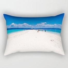 Kalanggaman Island, Leyte, Philippines Rectangular Pillow