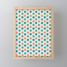 Polka Dots Framed Mini Art Print