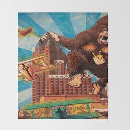 Milwaukee vs. the Super Ape Throw Blanket