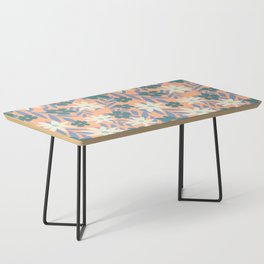 Just Peachy Floral Coffee Table