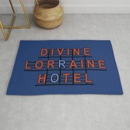 Divine Lorraine Hotel Rug