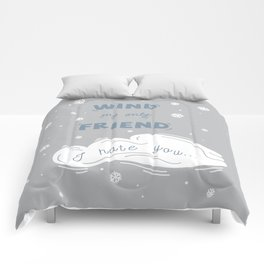 Wind My Only Friend Comforters
