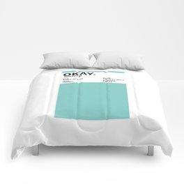 Okay. - Colour Card Comforters