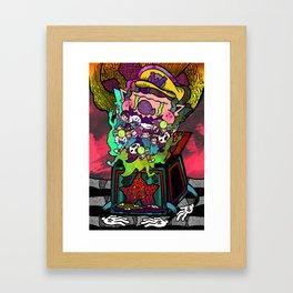 Invite Your Friends Framed Art Print