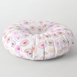 Warm Tone Geode Print Floor Pillow