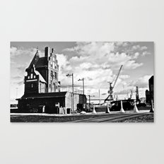 Hanseatic. The house of the pilotage in Stralsund. Canvas Print