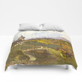 Alpine Autumn Comforters