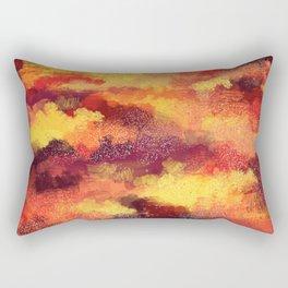 Autumn Foliage Rectangular Pillow