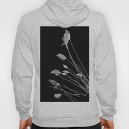 Dry Reeds on Black Hoody