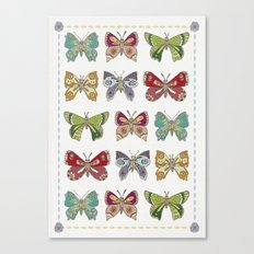Butterfly butterfly Canvas Print