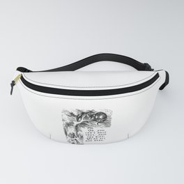 We're all mad here Fanny Pack