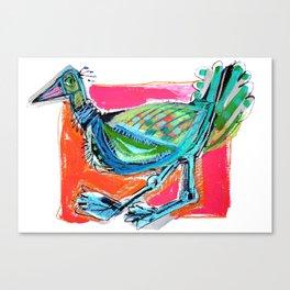 Bird on the Run Canvas Print
