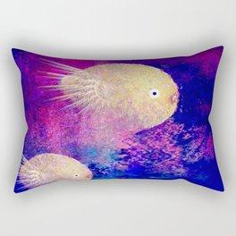 The lemon chicks Rectangular Pillow