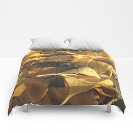 Beautiful Ginkgo leaves Comforters