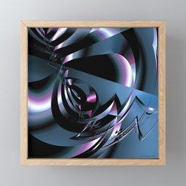 Abstract 347 Framed Mini Art Print