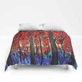 Autumn Trees Comforters