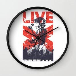 Live Redlabel Apparel Wall Clock