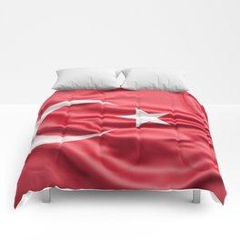 Flag of Turkey Comforters