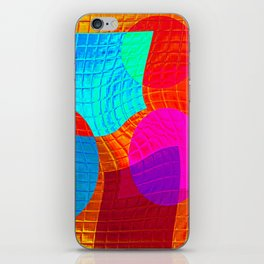 Re-Created Function f(x) No. 15 by Robert S. Lee iPhone Skin