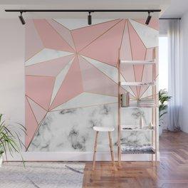 Marble & Geometry 042 Wall Mural