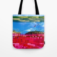 Beautifully Glitched Oslo, Norway Tote Bag