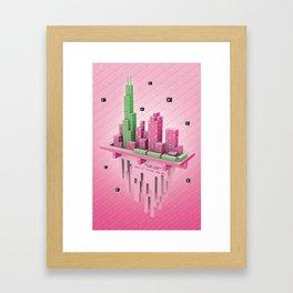 Starseed Chicago Framed Art Print