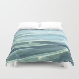 Water abstract H2O # 22 Duvet Cover