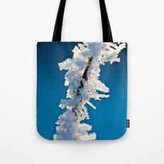 Iced Twig Tote Bag