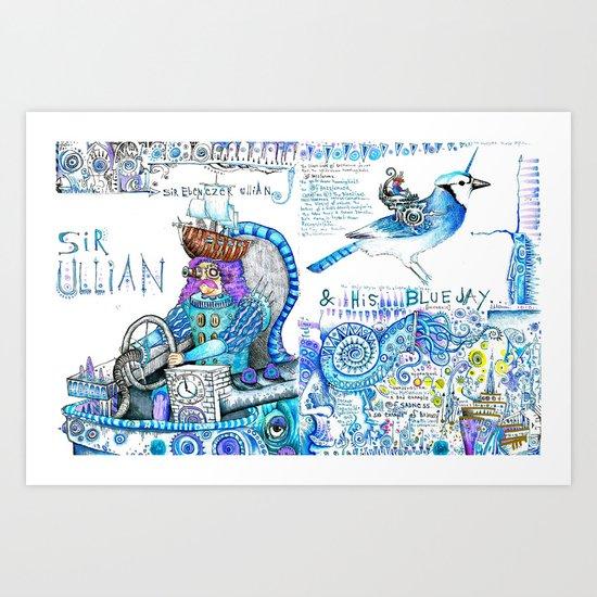 Sir Ullian Art Print