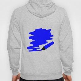 Dark Blue Marker Copy Space Hoody