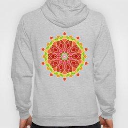 Vintage Mandala Flower Hoody