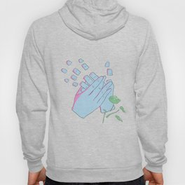 Surreal Comic Art with White Background Hoody