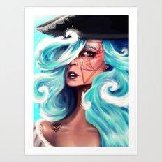 Marée Art Print