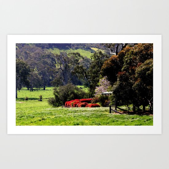 Farming Property ~ High Country Art Print
