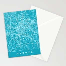 PADOVA Map - Italia | Aqua | More Colors, Review My Collections Stationery Cards