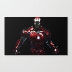 ipad iron man  Canvas Print