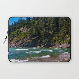 Oswald Beach, Oregon Laptop Sleeve