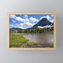 Mountain Bliss in Summer Framed Mini Art Print