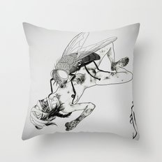 Great Saprophagous Throw Pillow